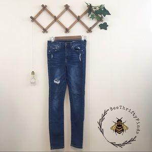 Aeropostale   Distressed High Waisted Jeans
